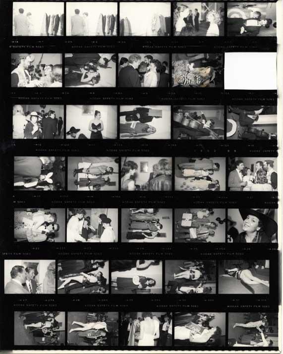 12 AIB, Contact Sheet, 1984, 1