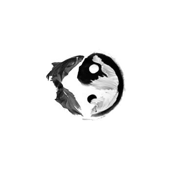 waving yin yang